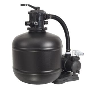 GAME 18-inch Sand Filter System with 3/4 HP Pump for Above Ground Pools