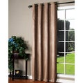 Habitat Brown Faux-suede 84-inch Curtain Panels (2)