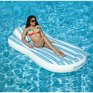 Swimline Pillow Top 80-inch Inflatable Mattress Pool Float