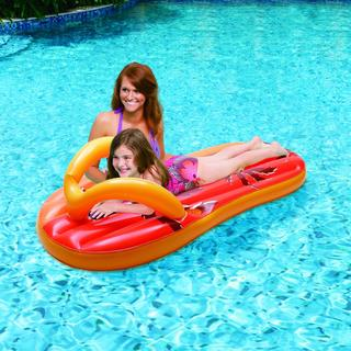 Blue Wave Tropical Flip Flop 71-inch Inflatable Pool Float