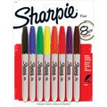 Sharpie Assorted Ink Fine Point Permanent Markers (Case of 16)