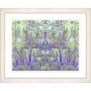 Studio Works Modern 'Purple Summer Land' Framed Print