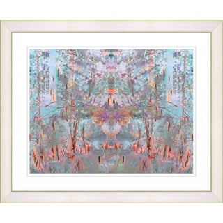 Studio Works Modern 'Orange Summer Land' Framed Print