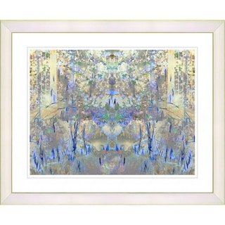 Studio Works Modern 'Blue Summer Land' Framed Print
