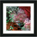 Studio Works Modern 'Royal Carnations in Red' Framed Print