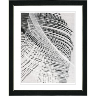 Studio Works Modern 'Dancing Feathers' Framed Print