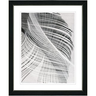 Studio Works Modern 'Dancing Feathers' Framed Print