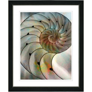 Studio Works Modern 'Sea Cambrian' Framed Print