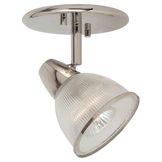 Lafayette Transitions Polished Nickel Directional 1-light Monopoint Fixture