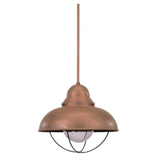 Sea Gull Lighting Single-Light Sebring Outdoor Pendant