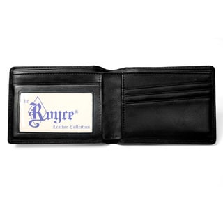 Royce Leather Double ID Wallet
