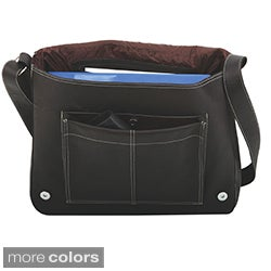 Bugatti Rio Grande Columbian Leather Flap Over Messenger Bag
