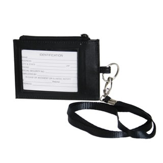 Royce Leather Lanyard ID Badge