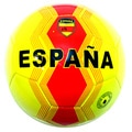 Indoor Outdoor Yellow and Red Espana Soccer Ball Size 5
