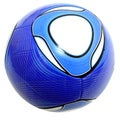 Indoor Outdoor Blue and White Soccer Ball Size 4