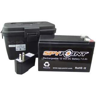 Spypoint 12-Volt Rechargeable Battery with AC Charger