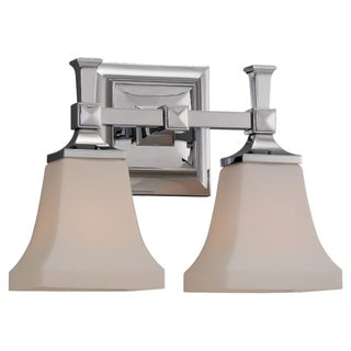 Sea Gull Lighting Two Light Wall/ Bath Fixture