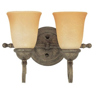 Sea Gull Lighting Two-Light Brandywine Wall/ Bath Fixture