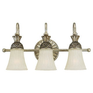 Highlands Three-Light Palladium Wall Bath Fixture