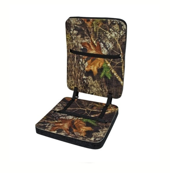 Mossy Oak Deluxe Foam Seat with Backrest