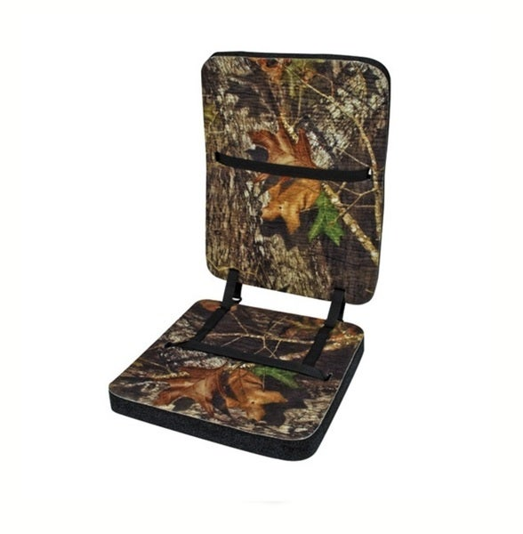 Mossy Oak Deluxe Foam Seat with Backrest