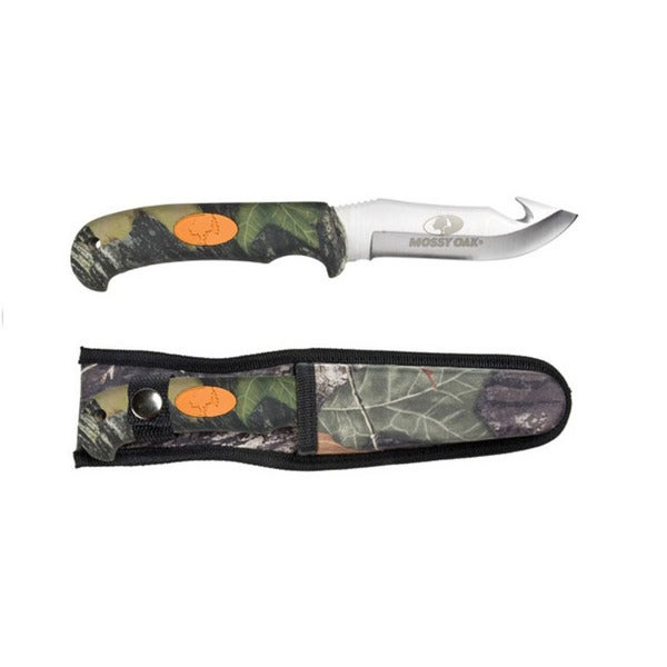 Mossy Oak Hunting Pro Hunter Gut Hook Knife