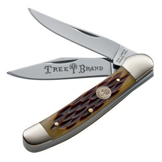 Boker Traditional Copperhead Jigged Brown Knife