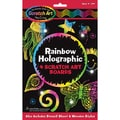 Melissa & Doug Rainbow Holographic Scratch Magic Art Board Set
