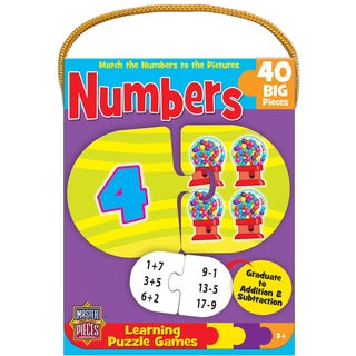 Mini Numbers 40-piece Learning Puzzle Game