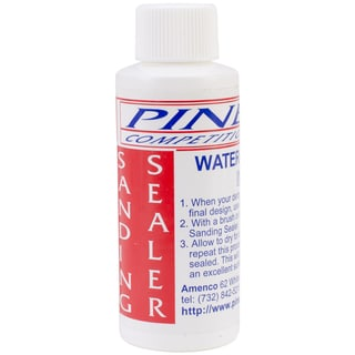 Pine Car Derby Sanding Sealer-2 Ounces Water Based