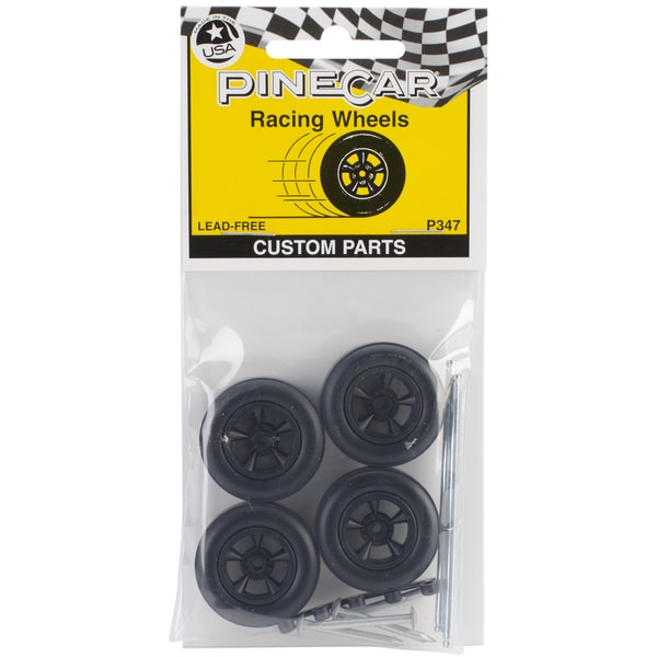 Pine Car Derby Racing Wheels