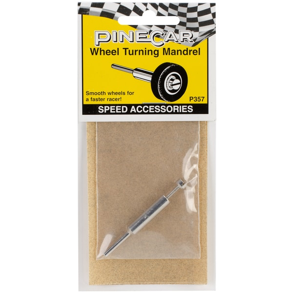 Woodland Scenics Pine Car Derby Wheel Turning Mandrel