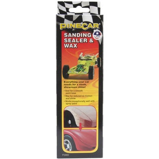 Woodland Scenics Pine Car Derby Sanding Sealer And Wax