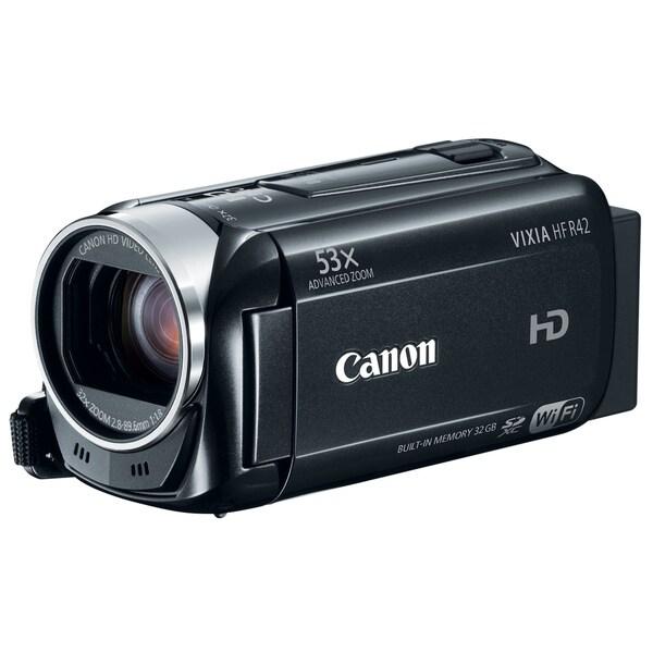 Canon VIXIA HF R42 32GB Wi-Fi Digital Camcorder