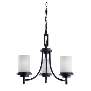 'Winnetka' Blacksmith 3-Light Single Tier Chandelier