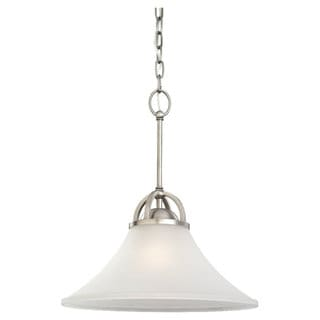 'Somerton' Antique Brushed Nickel 1-light Pendant