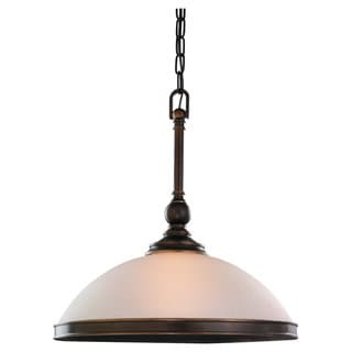 'Warwick' Vintage Bronze 1-Light Pendant