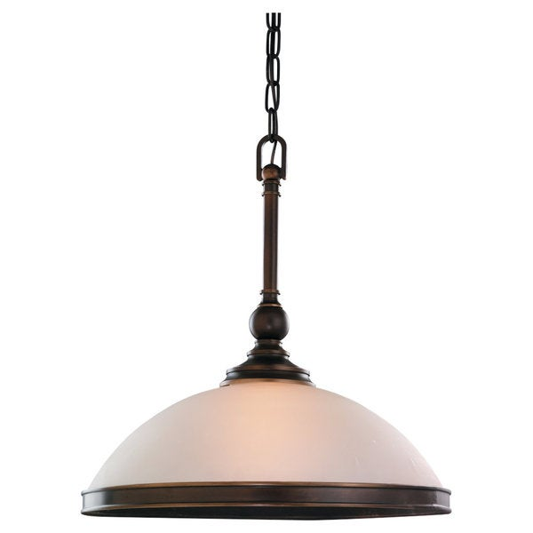 'Warwick' Vintage Bronze 1-Light Pendant