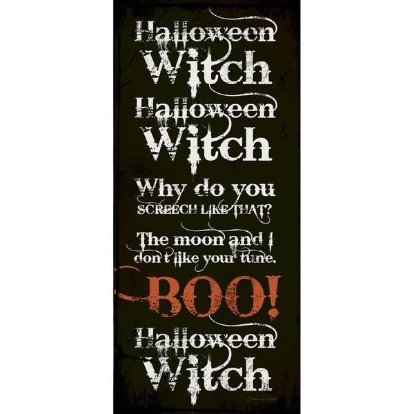 Halloween Witch Paper Print (Unframed)