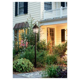Sea Gull Lighting Chatham 2-light Oxidized Bronze Outdoor Post Lantern