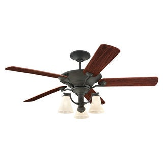 Sea Gull Lighting Somerton 56-inch Blacksmith Ceiling Fan