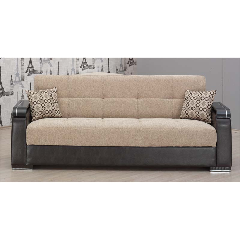 Arkansas Two-tone Upholstered Sofa Bed at Sears.com