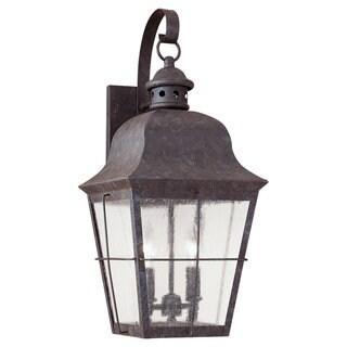 Sea Gull Lighting Chatham Colonial Bronze Outdoor Wall Lantern