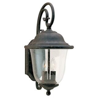 Sea Gull Lighting Trafalgar Oxidized Bronze 2-light Outdoor Lantern
