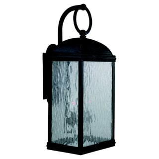 Sea Gull Lighting Branford Obsidian Mist 2-light Outdoor Lantern