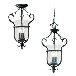 Manor House 3-Light Hall/ Foyer Light Fixture