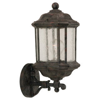 Kent Bronze 1-Light Outdoor Wall Lantern