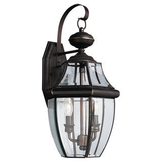 Lancaster Bronze Outdoor 2-Light Wall Lantern
