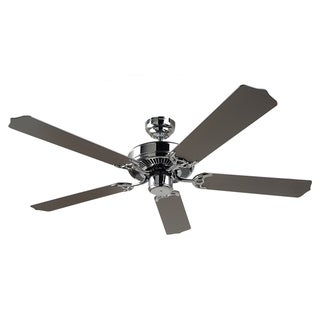 Quality Max Energy Star Chrome 52-Inch Ceiling Fan