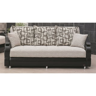 39 wisconsin 39 two tone traditional sleeper sofa bed for Sofa bed overstock